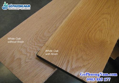 """Gỗ sồi trắng (white oak) 4/4""""= 25.4mm"""